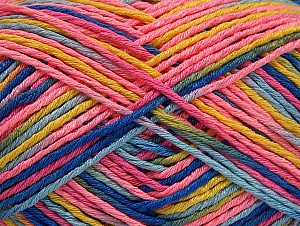 Περιεχόμενο ίνας 100% Ακρυλικό, Pink, Brand ICE, Green, Gold, Blue Shades, fnt2-63721