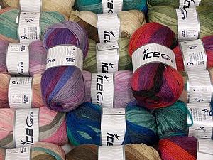 Merino Batik  Fiber Content 70% Acrylic, 30% Merino Wool, Brand ICE, fnt2-63905