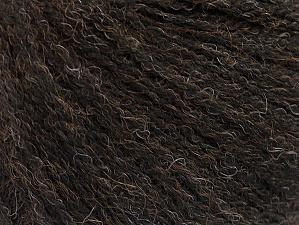 Fiber Content 50% Acrylic, 25% Wool, 25% Alpaca, Brand ICE, Brown, fnt2-63962