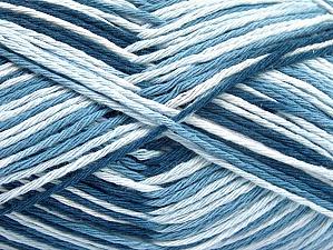 Περιεχόμενο ίνας 100% Βαμβάκι, White, Brand ICE, Blue Shades, fnt2-64031