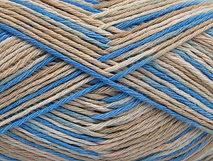 Fiber Content 100% Cotton, Brand ICE, Cream, Blue, Beige, fnt2-64032