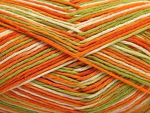 Περιεχόμενο ίνας 100% Βαμβάκι, Orange, Brand ICE, Green, Cream, fnt2-64037