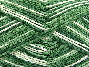 Fiber Content 100% Cotton, Brand ICE, Green Shades, fnt2-64038