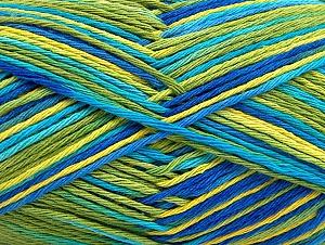 Περιεχόμενο ίνας 100% Βαμβάκι, Brand ICE, Green Shades, Blue Shades, fnt2-64039