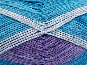Fiber Content 100% Cotton, Lilac, Brand ICE, Blue Shades, fnt2-64042