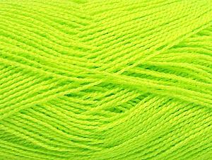 Vezelgehalte 100% Acryl, Neon Yellow, Brand ICE, fnt2-64044
