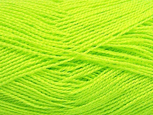 Fiberinnehåll 100% Akryl, Neon Yellow, Brand ICE, fnt2-64044