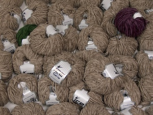 Chenille Light This mixed lot includes a total of 2000 gr (70.5 oz.) yarn. There is no standard for ball weight. Also disregard any information on the labels. You will get what you see in the photo. Fiber Content 100% Micro Fiber, Brand ICE, fnt2-64094