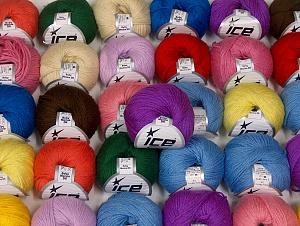 Baby Merino DK  Fiber Content 40% Acrylic, 40% Merino Wool, 20% Polyamide, Brand ICE, fnt2-64113