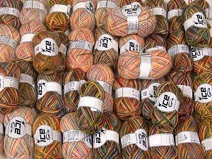 Winter Yarns This mixed lot includes a total of 2000 gr (70.5 oz.) yarn. There is no standard for ball weight. Also disregard any information on the labels. You will get what you see in the photo. Brand ICE, fnt2-64121