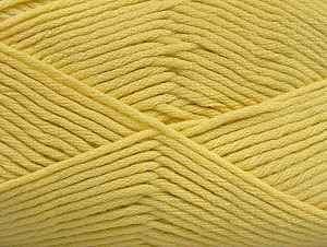 Fiber Content 52% Nylon, 48% Acrylic, Light Yellow, Brand ICE, fnt2-64139