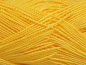 Vezelgehalte 100% Acryl, Yellow, Brand ICE, fnt2-64151