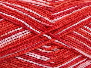 Περιεχόμενο ίνας 100% Βαμβάκι, Salmon Shades, Red, Brand ICE, fnt2-64168