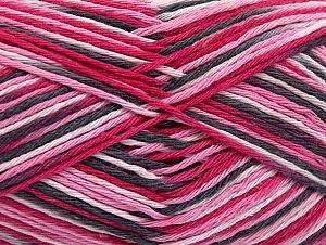 Περιεχόμενο ίνας 100% Βαμβάκι, Pink Shades, Brand ICE, Grey Shades, fnt2-64170