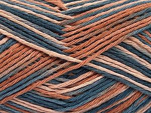 Περιεχόμενο ίνας 100% Βαμβάκι, Indigo Blue, Brand ICE, Brown Shades, fnt2-64171