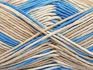 Contenido de fibra 100% Algodón, Brand ICE, Cream, Blue, Beige, fnt2-64188