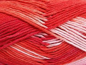 Contenido de fibra 100% Algodón, Salmon, Red, Pink, Brand ICE, fnt2-64191