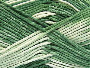 Contenido de fibra 100% Algodón, Brand ICE, Green Shades, fnt2-64196