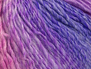 Fiber Content 70% Acrylic, 30% Wool, Pink Shades, Lilac Shades, Brand ICE, Yarn Thickness 3 Light  DK, Light, Worsted, fnt2-64214