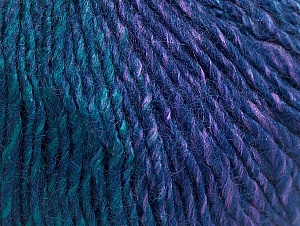 Fiber Content 70% Acrylic, 30% Wool, Purple, Navy, Brand ICE, Green, Yarn Thickness 3 Light  DK, Light, Worsted, fnt2-64219