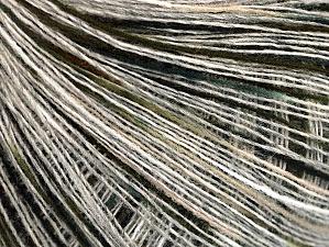 Contenido de fibra 50% Acrílico, 50% Lana, White, Brand ICE, Grey, Green, Black, fnt2-64229
