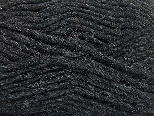 Fiber Content 100% Wool, Brand ICE, Anthracite Black, fnt2-64419