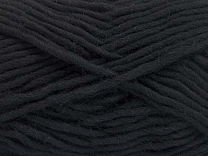 Περιεχόμενο ίνας 100% Μαλλί, Brand ICE, Black, fnt2-64420