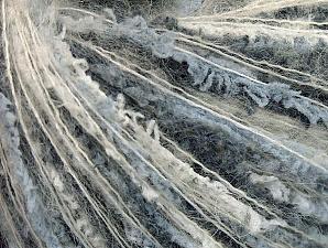 Περιεχόμενο ίνας 50% Πολυαμίδη, 30% Ακρυλικό, 20% Μοχαίρ, White, Light Blue, Brand ICE, Grey, fnt2-64421