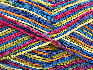 Fiber Content 100% Cotton, Pink, Orange, Brand ICE, Green, Blue Shades, fnt2-64452