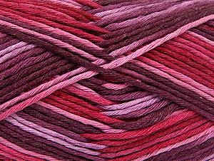 Contenido de fibra 100% Algodón, Red, Pink Shades, Maroon, Brand ICE, fnt2-64453