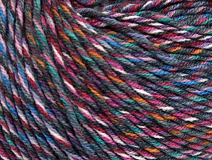 Fiber Content 55% Cotton, 45% Acrylic, White, Pink, Orange, Lilac, Brand ICE, Grey, Blue, fnt2-64457