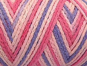 Fiber Content 50% Polyamide, 50% Acrylic, Pink Shades, Lilac, Brand Ice Yarns, Yarn Thickness 4 Medium Worsted, Afghan, Aran, fnt2-64476