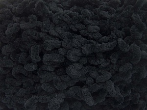 Fiber Content 100% Micro Fiber, Brand Ice Yarns, Black, Yarn Thickness 6 SuperBulky  Bulky, Roving, fnt2-64528