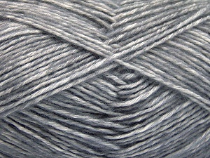 Fiber Content 80% Cotton, 20% Acrylic, Brand Ice Yarns, Grey, fnt2-64547