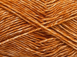 Fiber Content 80% Cotton, 20% Acrylic, Brand Ice Yarns, Gold, fnt2-64552