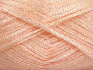 Fiber Content 70% Polyamide, 19% Wool, 11% Acrylic, Light Salmon, Brand Ice Yarns, fnt2-64577
