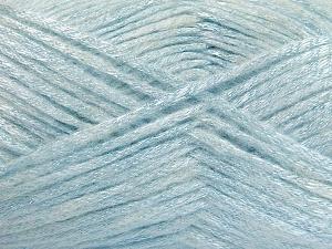 Fiber Content 70% Polyamide, 19% Wool, 11% Acrylic, Light Blue, Brand Ice Yarns, fnt2-64579
