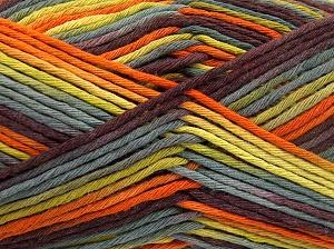Contenido de fibra 100% Algodón, Purple, Orange, Brand Ice Yarns, Green Shades, fnt2-64630