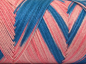 Fiber Content 100% Acrylic, Pink Shades, Brand Ice Yarns, Blue, fnt2-64646