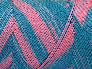 Fiber Content 100% Acrylic, Turquoise Shades, Salmon Shades, Brand Ice Yarns, fnt2-64647