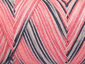 Fiber Content 100% Acrylic, White, Salmon Shades, Brand Ice Yarns, Grey, fnt2-64650