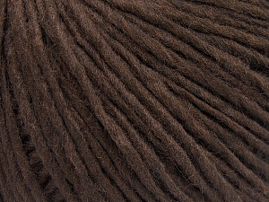 Vezelgehalte 50% Acryl, 50% Wol, Brand Ice Yarns, Coffee Brown, fnt2-64669