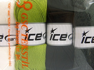 Fiber Content 52% Nylon, 48% Acrylic, Mixed Lot, Brand Ice Yarns, fnt2-64671