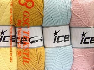Vezelgehalte 52% Nylon, 48% Acryl, Mixed Lot, Brand Ice Yarns, fnt2-64675