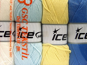 Fiber Content 52% Nylon, 48% Acrylic, Mixed Lot, Brand Ice Yarns, fnt2-64677