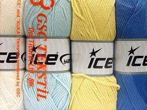 Vezelgehalte 52% Nylon, 48% Acryl, Mixed Lot, Brand Ice Yarns, fnt2-64677