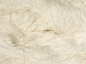 The yarn is in hanks. Contenido de fibra 50% Acrílico, 50% Algodón, Brand Ice Yarns, Ecru, fnt2-64679