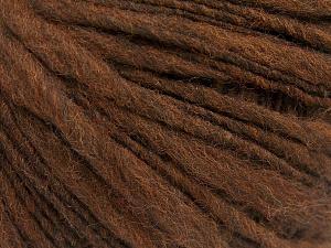 İçerik 60% Merino Yün, 40% Akrilik, Brand Ice Yarns, Brown, fnt2-64681