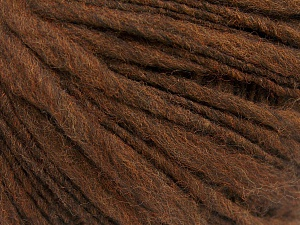 Contenido de fibra 60% Lana Merino, 40% Acrílico, Brand Ice Yarns, Brown, fnt2-64681