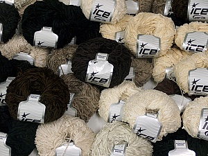 Amigurumi Chenille This mixed lot includes a total of 2000 gr (70.5 oz.) yarn. There is no standard for ball weight. Also disregard any information on the labels. You will get what you see in the photo. Fiber Content 100% Polyester, Brand Ice Yarns, fnt2-64862